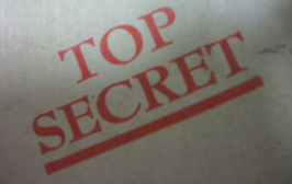 Top secret logo used on documents from the M Room Unit