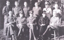 Named group photo of German Generals