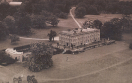 An aerial view of Trent Park